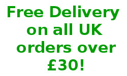 Free UK Delivery on Order over £30