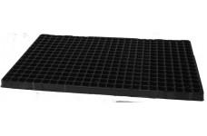 BLACK POLYSTYRENE 360 CELL MINI PLUG PLANT SEED GROWING TRAY (Plug Volume: 5cc )   - PRICED INDIVIDUALLY